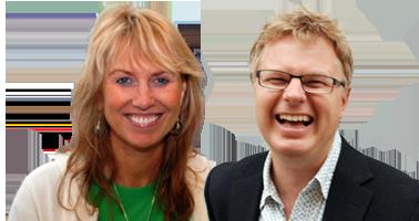 Dine kursledere, Geir Hagberg og Kristin Wang